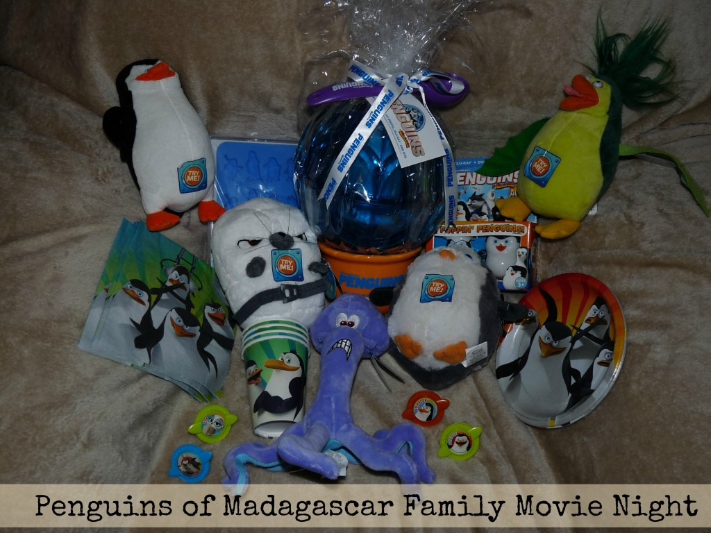 penguins of Madagascar family movie night