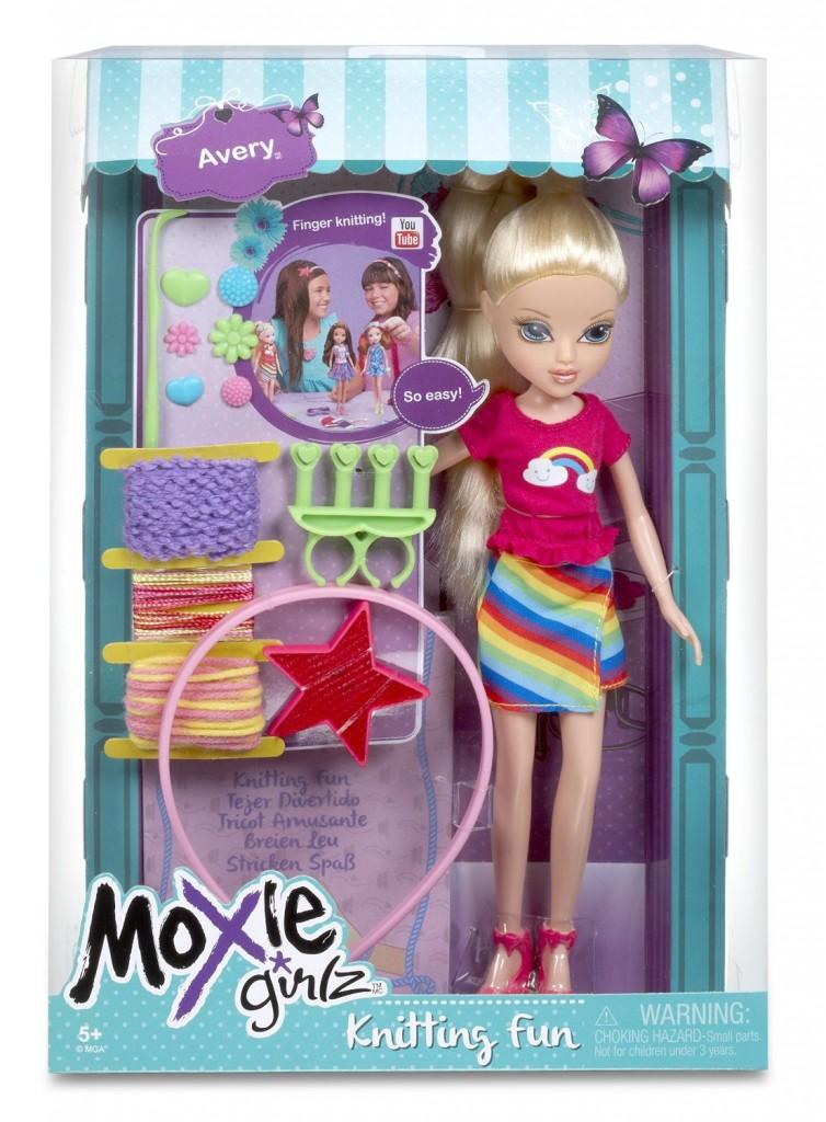 moxie girlz knitting fun avery