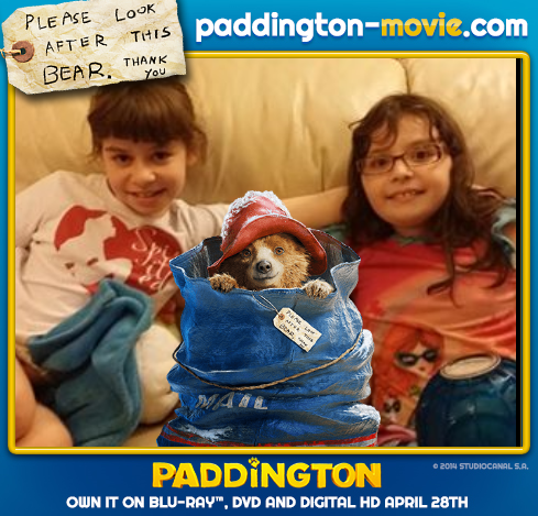 paddington bear with girls
