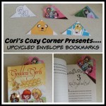 envelope bookmark collage