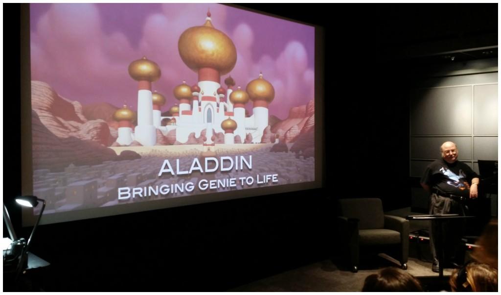 aladdin bringing genie to life