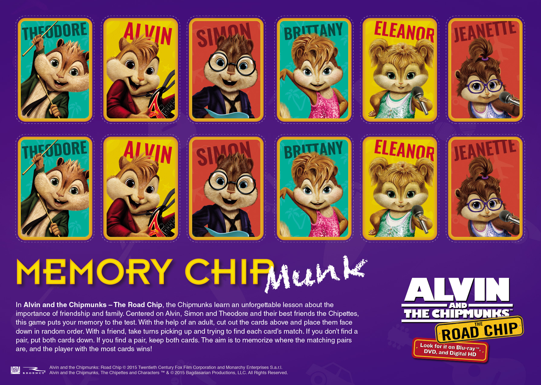 Alvin And The Chipmunks The Road Chip Archives Cori S Cozy Corner
