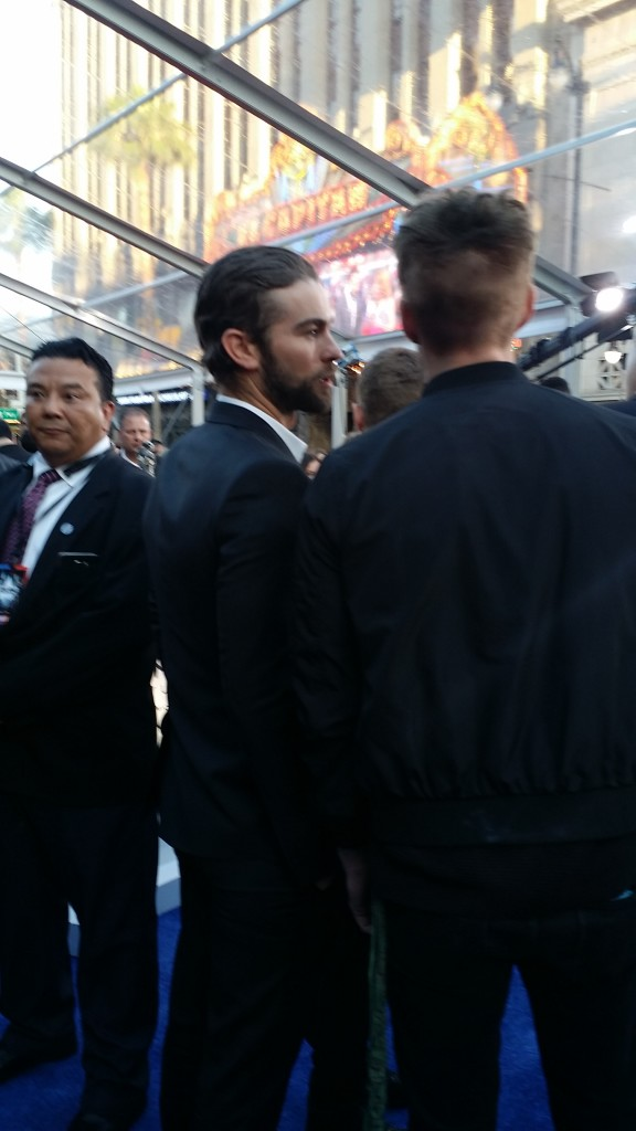 Chase Crawford Captain America: Civil War Red Carpet
