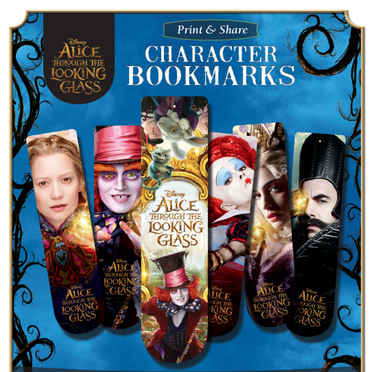 Alice bookmarks