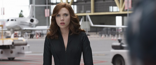 Black Widow/Natasha Romanoff (Scarlett Johansson) Photo Credit: Film Frame © Marvel 2016