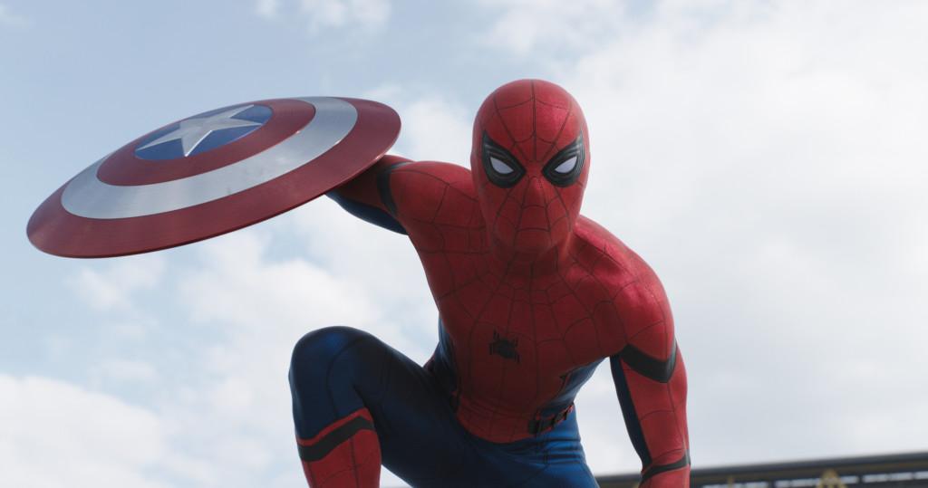 Spider-Man/Peter Parker (Tom Holland) Photo Credit: Film Frame © Marvel 2016