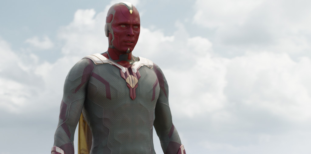 Vision (Paul Bettany) Photo Credit: Film Frame © Marvel 2016