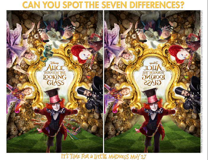 alice spot the differences