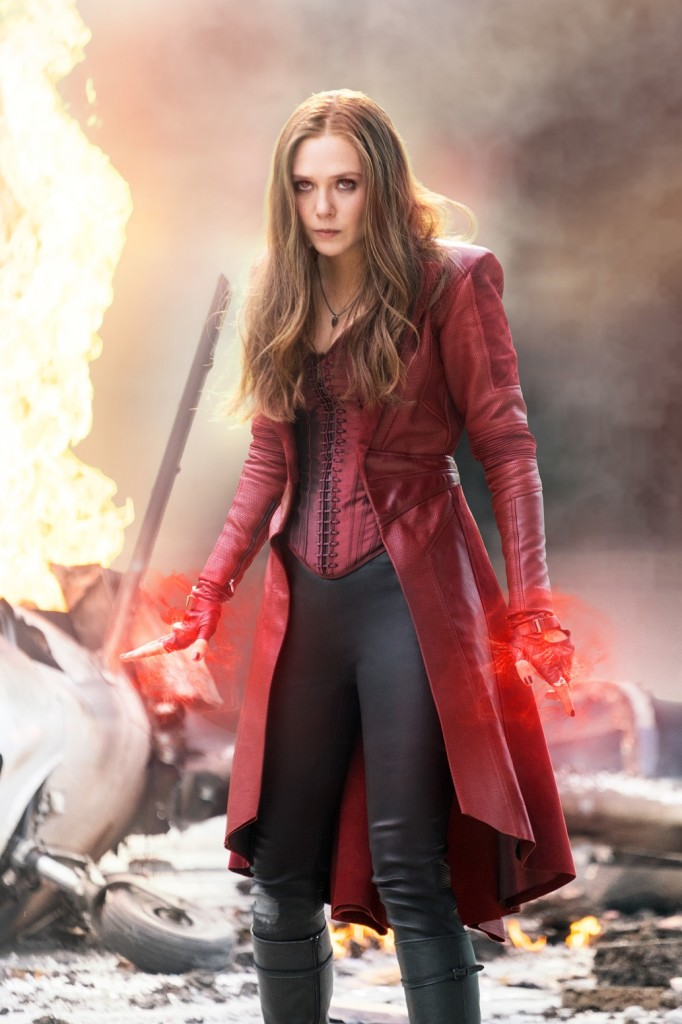 Scarlet Witch/Wanda Maximoff (Elizabeth Olsen) Photo Credit: Zade Rosenthal © Marvel 2016