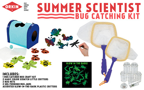 Orkin Mosquito Summer Scientist Giveaway