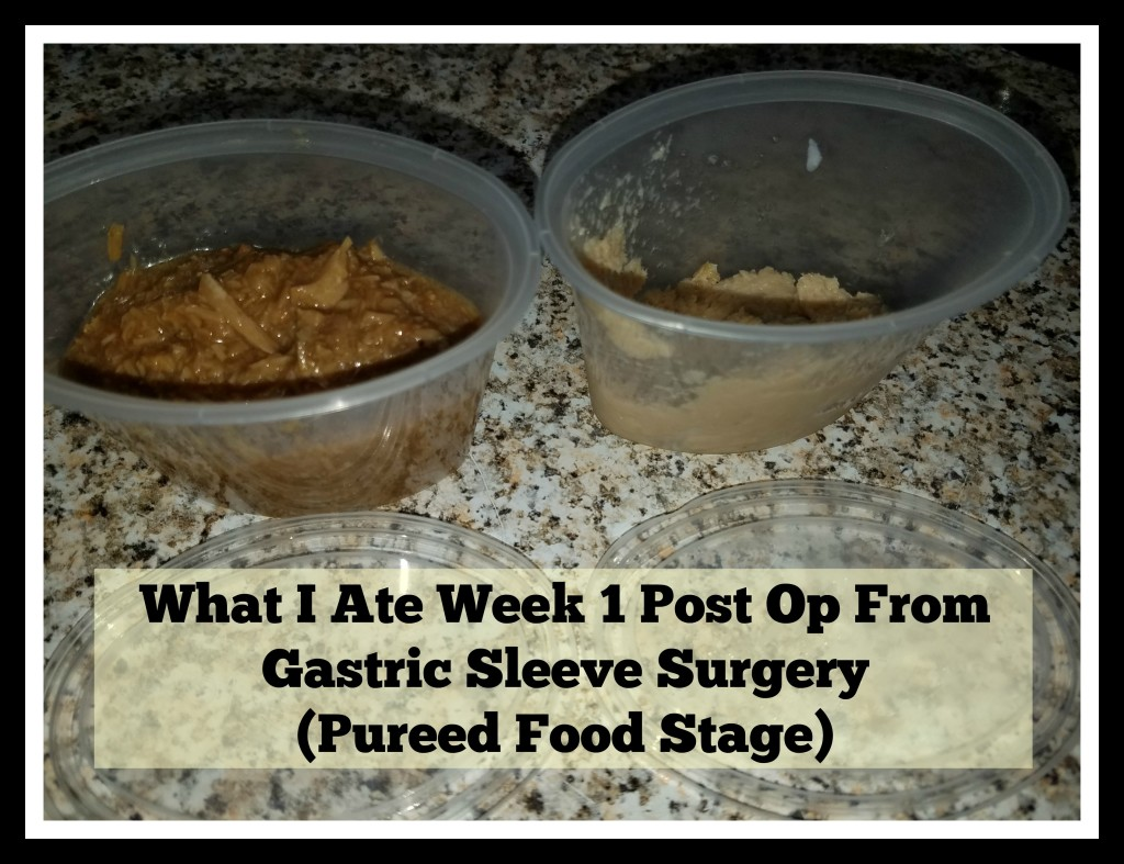 week one post op food