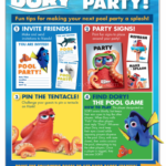 Free Finding Dory Pool Party Kit, Recipes, and More!