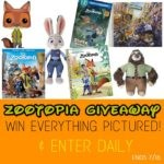 Zootopia Home Release Giveaway