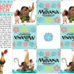Check Out These New Moana Coloring and Activity Sheets!