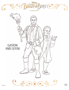 gaston and lefou thumbnail