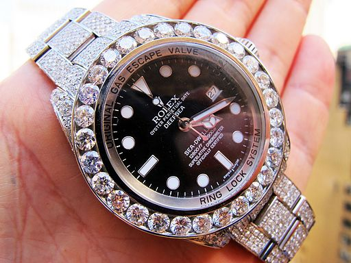 Fully_diamond_covered_ROLEX_DeepSea_Sea-Dweller_watch_customized_bu_TraxNYC