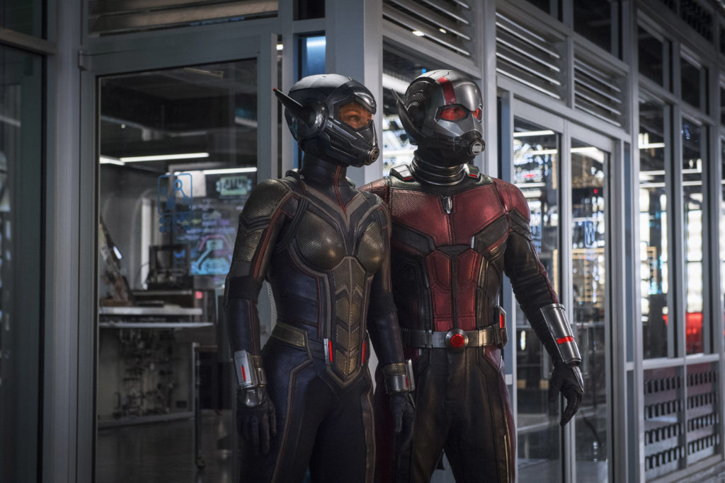"From the Marvel Cinematic Universe comes ""Ant Man and the Wasp,"" a new chapter featuring heroes with the astonishing ability to shrink. In the aftermath of ""Captain America: Civil War,"" Scott Lang grapples with the consequences of his choices as both a Super Hero and a father. As he struggles to rebalance his home life with his responsibilities as Ant-Man, he's confronted by Hope van Dyne and Dr. Hank Pym with an urgent new mission. Scott must once again put on the suit and learn to fight alongside the Wasp as the team works together to uncover secrets from the past.   ""Ant-Man and the Wasp"" is directed by Peyton Reed and stars Paul Rudd, Evangeline Lilly, Michael Pena, Walton Goggins, Bobby Cannavale,  Judy Greer, Tip ""T.I."" Harris, David Dastmalchian, Hannah John Kamen, Abby Ryder-Fortson, Randall Park, with Michelle Pfeiffer, with Laurence Fishburne, and Michael Douglas.   Kevin Feige is producing with Louis D'Esposito, Victoria Alonso, Stephen Broussard, Charles Newirth, and Stan Lee serving as executive producers. Chris McKenna & Erik Sommers, Paul Rudd, Andrew Barrer & Gabriel Ferrari wrote the screenplay. ""Ant-Man and the Wasp"" hits U.S. theaters on July 6, 2018."